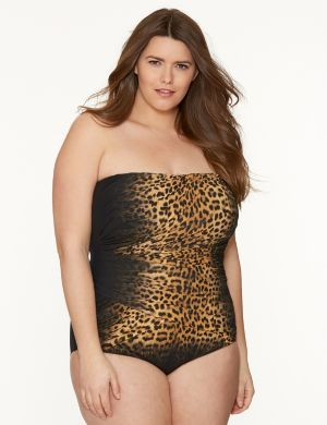 Animal print maillot by Gottex®
