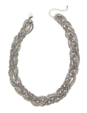 Braided mesh necklace by Lane Bryant