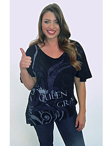 The QG Signature Logo Tee by Queen Grace