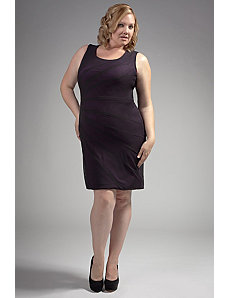 The Larisa Dress in Plum by Queen Grace