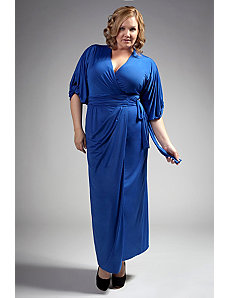 The April Dress in Cobalt Blue by Queen Grace