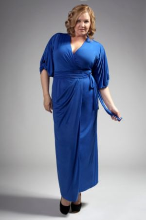 The April Dress in Cobalt Blue