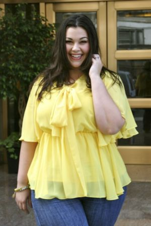The Kara Blouse in Yellow