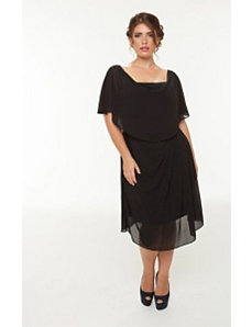 The Audrey Dress in Black by Queen Grace