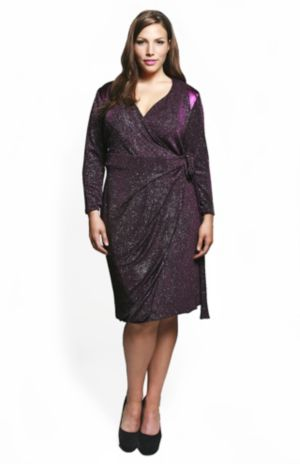The Marcia Dress in Glitz