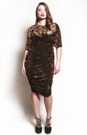 The Zarine Dress in Rich Velvet