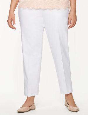 Lena double weave ankle pant
