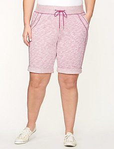 Drawstring short by LANE BRYANT