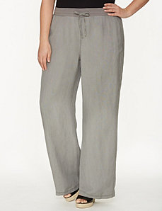 Linen wide leg pant by LANE BRYANT
