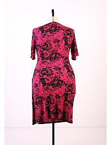 Rosette Romance Dress - Magenta by Re/Dress