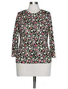 Flirty Floral Cardi by Re/Dress