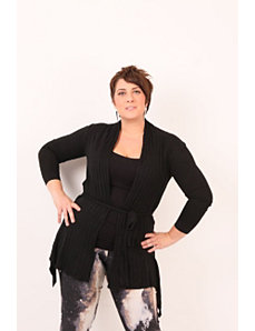 Cozy Comfort Cardigan- Black by Re/Dress