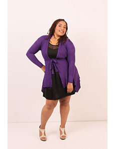 Cozy Comfort Cardigan- Ultraviolet by Re/Dress