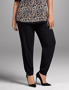 Ankle-tie lounge pant by Sophie Theallet