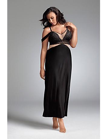 Plus size designer night gown