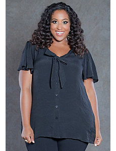 Cheryl Tie Blouse by SWAK Designs