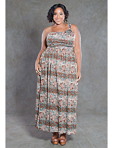 Ellen Tribal Print Maxi Dress by SWAK Designs