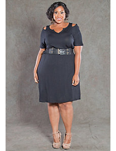 Whitney Cut Out Dress by SWAK Designs