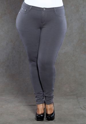 Zoe Jeggings in Charcoal