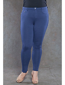 Zoe Jeggings in Navy by SWAK Designs