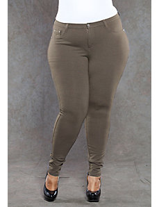 Zoe Jeggings in Brown by SWAK Designs
