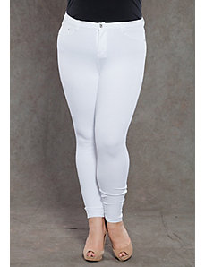 Zoe Jeggings in White by SWAK Designs