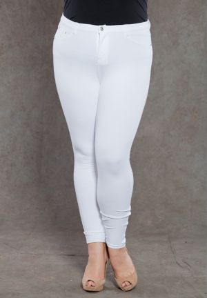 Zoe Jeggings in White