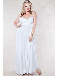 Eternity Maxi Convertible Dress in White by SWAK Designs