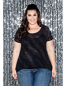 Hope Shimmer Top by SWAK Designs