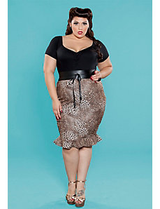 Jean Tulip Skirt by SWAK Designs