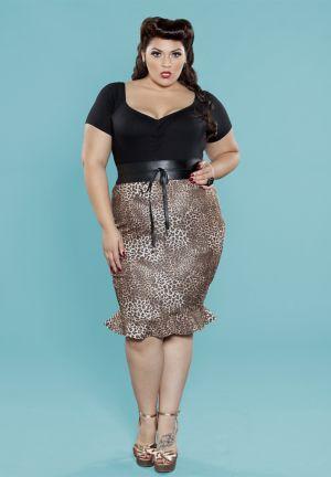 Jean Tulip Skirt