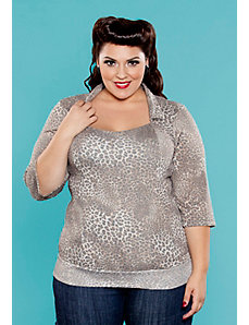 Ginger Knit Top by SWAK Designs