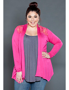 Lacey Open Cardigan by SWAK Designs