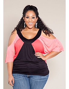 Molly Color Block Top by SWAK Designs