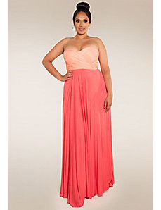 Eternity Convertible Maxi Dress (Sweet Duo) by SWAK Designs