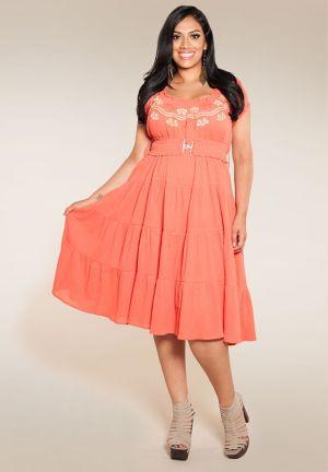 Soleil Gauze Dress