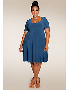 Lola Dress (Pacific Shades) by SWAK Designs