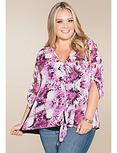 Mindy Chiffon Top by SWAK Designs