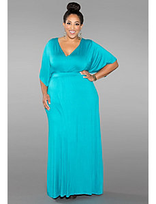 Joan Maxi Dress (Iced Shades) by SWAK Designs