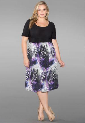 Gloria Printed Dress