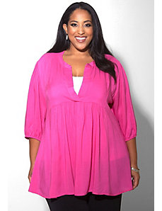 Emmylou Tunic (Vivid Shades) by Sealed With a Kiss Designs