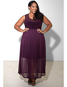 Paris Maxi Dress (Night Shades) by SWAK Designs
