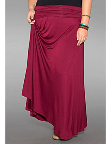 California Maxi Skirt (Harvest Colors) by SWAK Designs