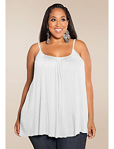 Pretty Cami in White by SWAK Designs