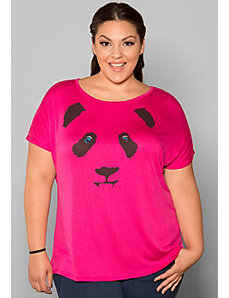Panda Top by SWAK Designs