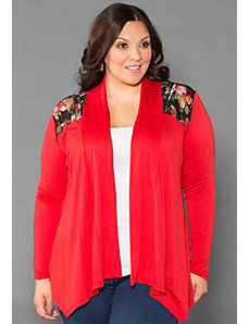 Lauren Lace Cardigan by SWAK Designs