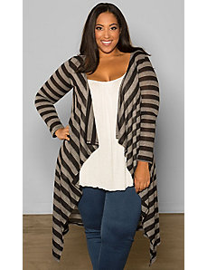 Jamie Knit Cardigan (Stripes) by Sealed With a Kiss Designs