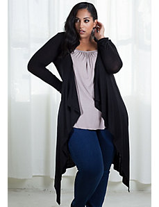 Jamie Knit Cardigan in Black by SWAK Designs