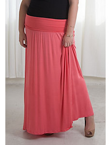California Maxi Skirt (Sherbet) by Sealed With a Kiss Designs