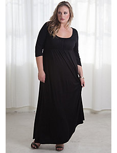 Lois Maxi Dress in Black by SWAK Designs